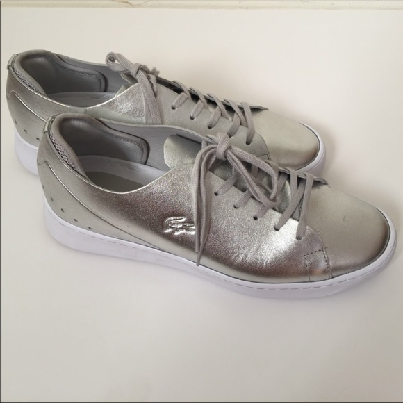 0b2aad91aefd Lacoste Shoes - Lacoste Ladies Eyyla sneakers silver